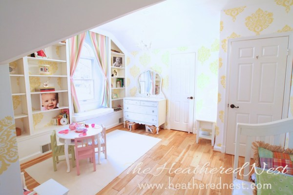 heathered nest bedroom