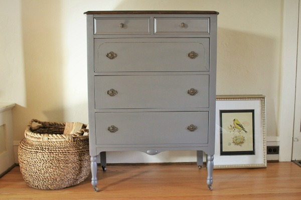 highboy reveal {The Little Red Craftsman}