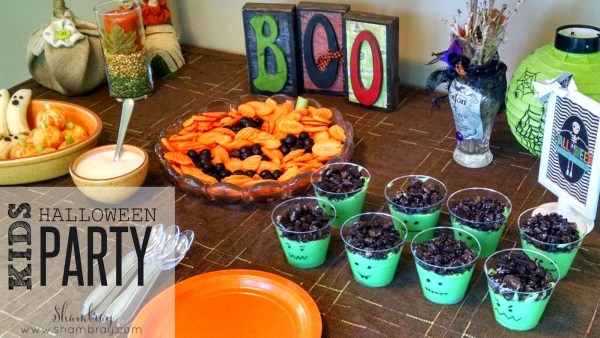 Kids Halloween Party Food {Shambray}