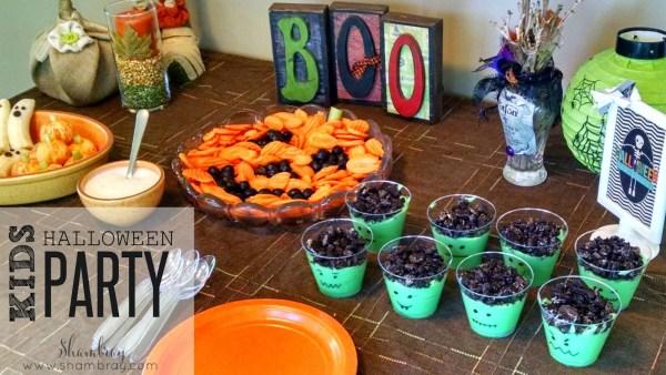 Kids Halloween Party Food {Shambray}