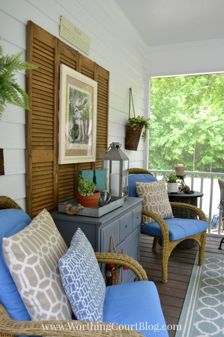 Southern Porch Makeover {The Everyday Home}