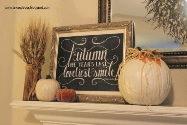 Fall Home Tour from Texas Decor