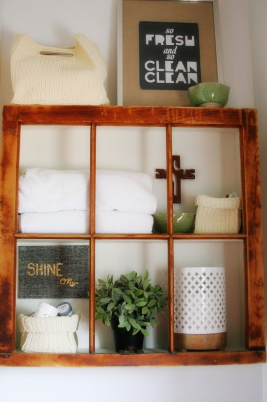 Window Frame Shelf {Craftivity Designs}