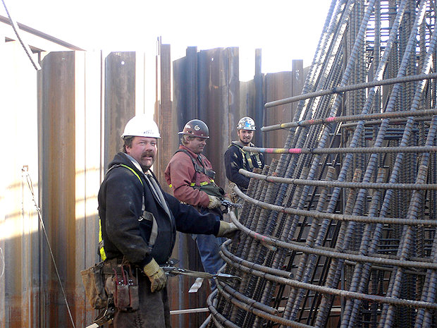 Concrete Reinforcing Steel Rebar Construction Projects