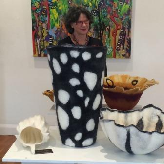 Denise Lithgow and Felt Vessels