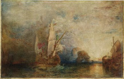 Menpes painting after Turner