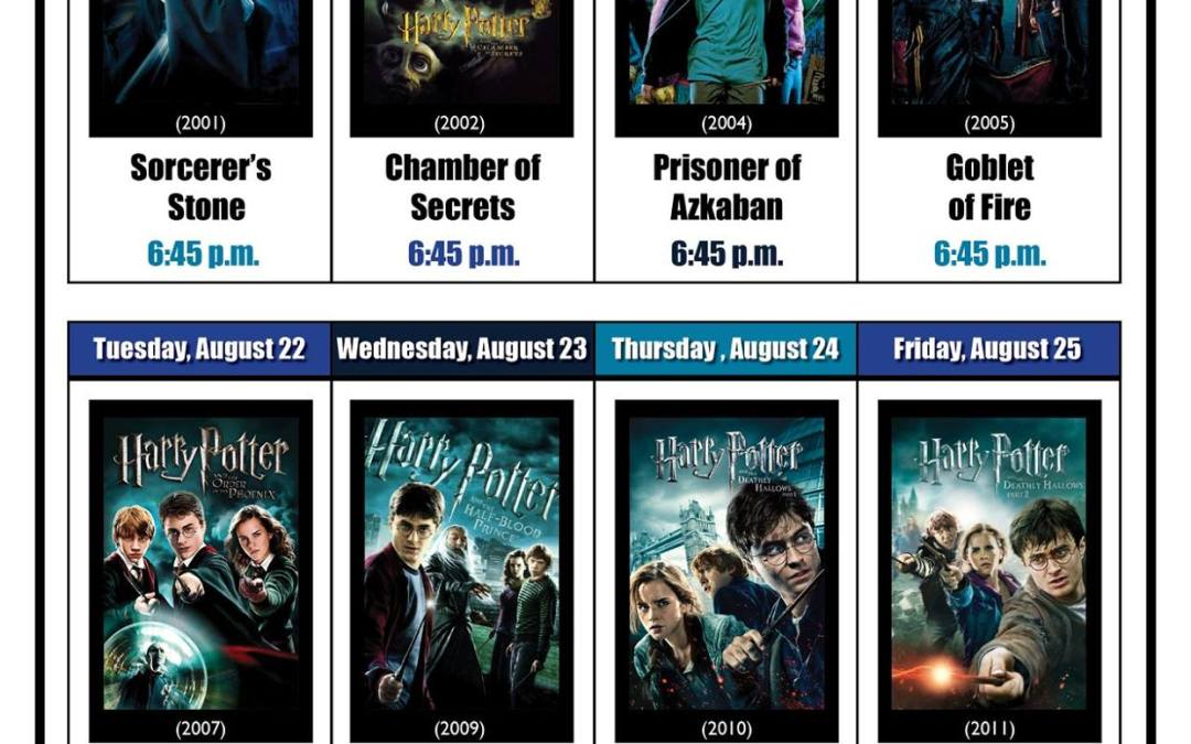 8 Days of Harry Potter