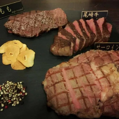 ステーキバルRyo、ステーキ、肉