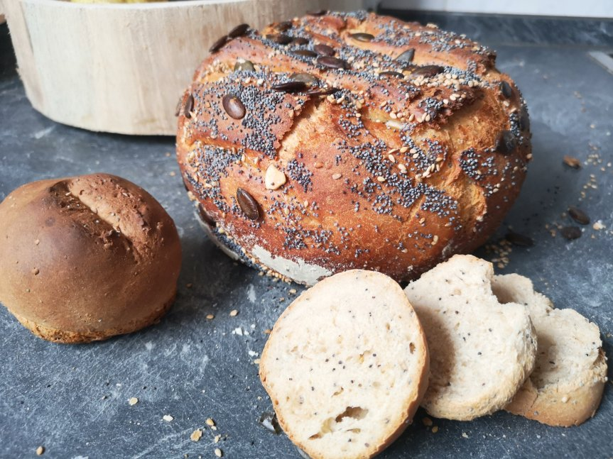 Unser erstes Brot im Topf, Rezept und Anleitung