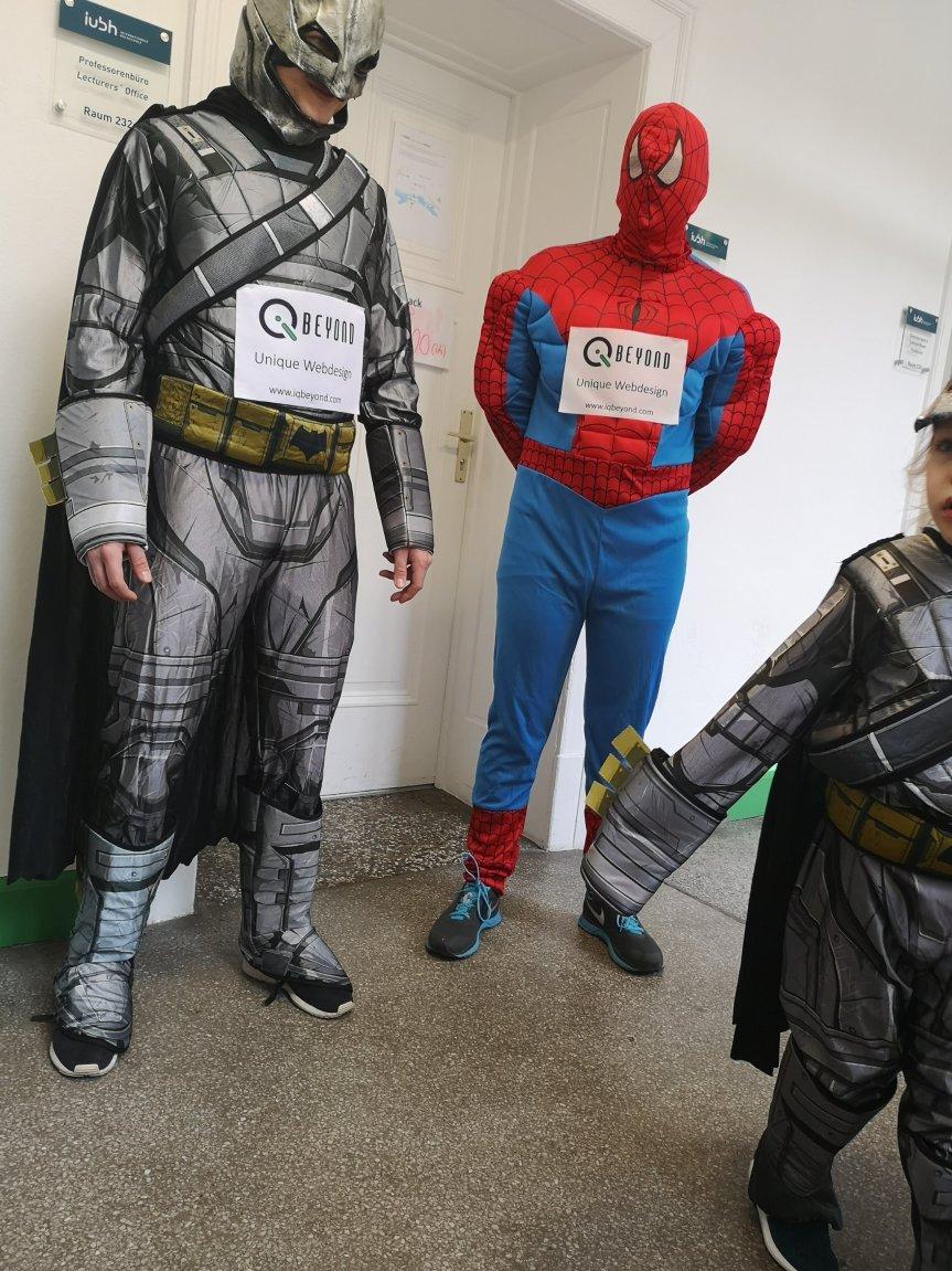 Superheldencasting; Batman rennt für das Leben