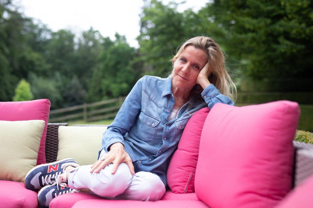 Delphine Remy a un cancer du sein