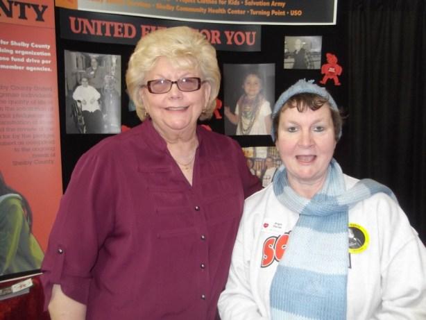 Donna Harrell - Cancer Assoc. DirectorAngela Davies - SCUFFY Director