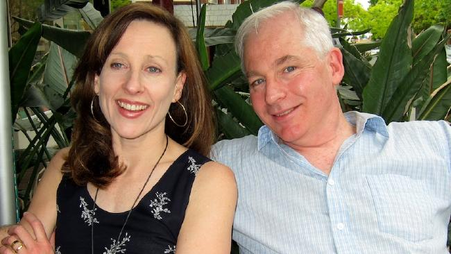 Dr David Evans, who says climate model architecture is wrong, with wife Jo Nova, Picture: australianclimatemadness.comSource:Supplied