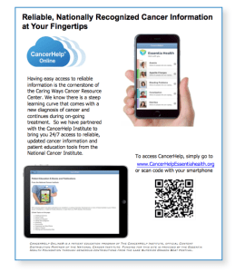 Essentia Flyer with iPhone, iPad and QR Code