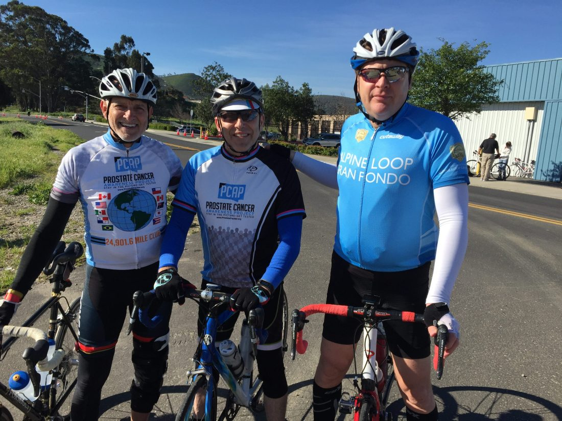 Cancer Journeys Foundation board members, Robert Warren Hess, Steven Kurtz, Scott Peterson