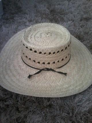 Sombrero de Palma tipo Gallera