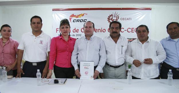 Croc firma convenio con Cecati