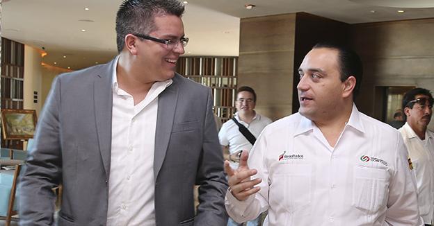 Roberto Borge y el Presidente del FJR