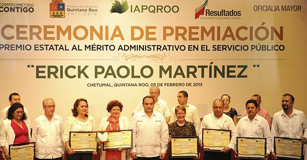 Borge Mérito Administrativo Erick Paolo Martínez