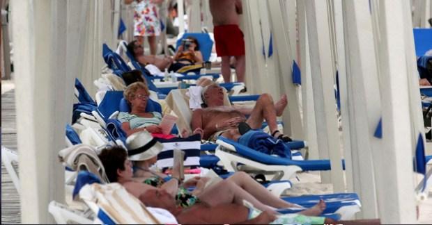 turistas españoles