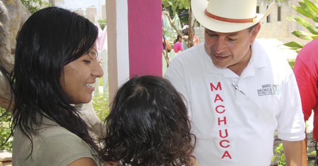 Mario Machuca favorito