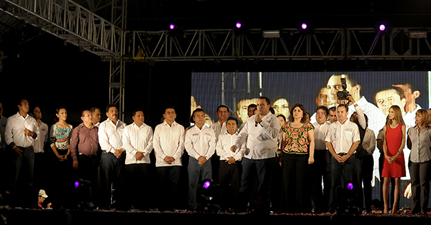 Borge Dirigentes PRI