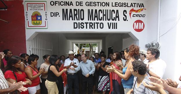 Mario Machuca of
