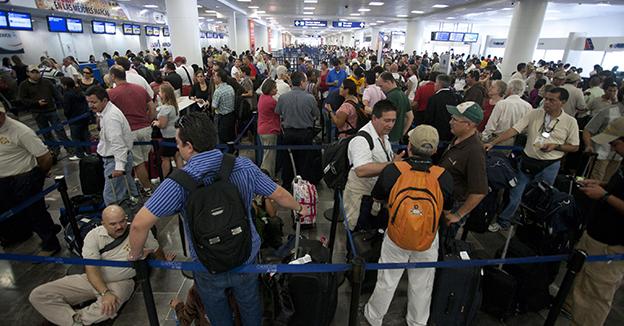 Aeropuerto llegada