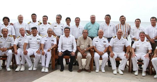 Comandantes buques