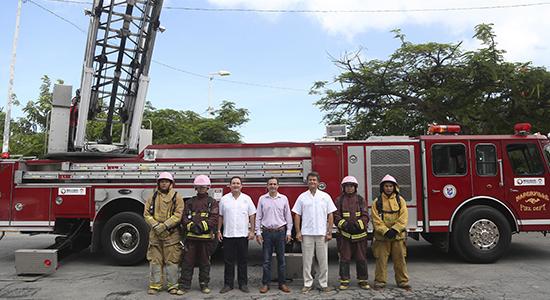 bomberos cancun