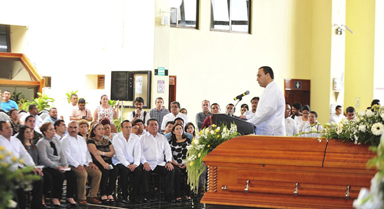 Abraham Martínez Ross último adiós