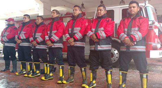 bomberos playa del carmen