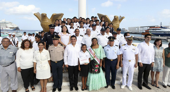 fiestas patrias en Cozumel