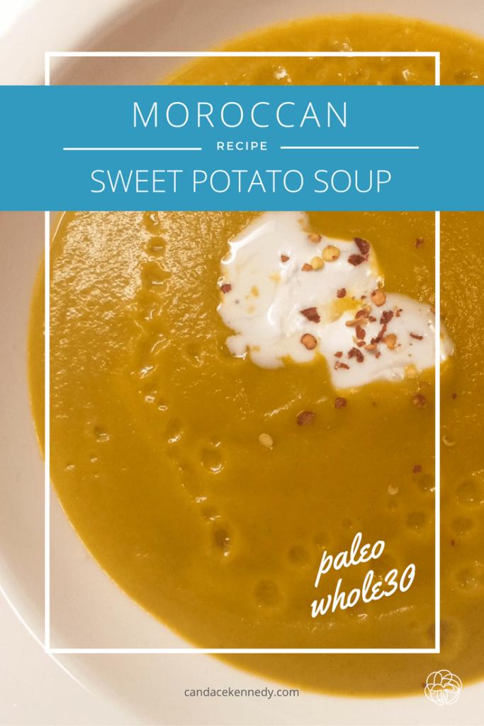 Sweet Potato Soup with Coconut Cream