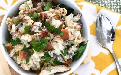 Crispy Cauliflower Salad