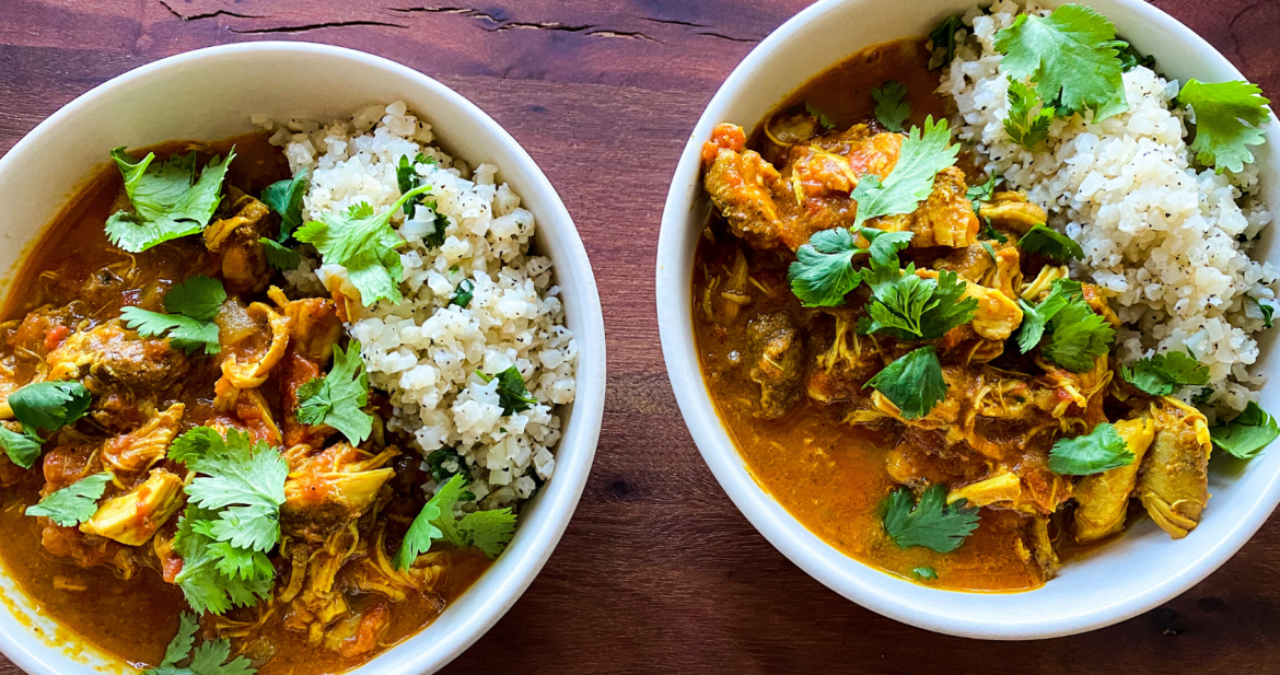 Instant Pot Butter Chicken | Paleo, Whole30, Low-carb | The Real Food Effect by Candace Kennedy, Holistic Nutritionist