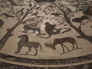 Solo in Morocco - mosaics in Volubilis
