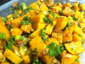 Sweet Potato Salad with Orange-Maple Dressing