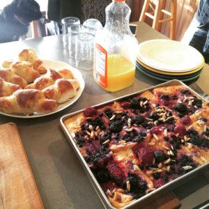 Christmas Morning Berry Strata