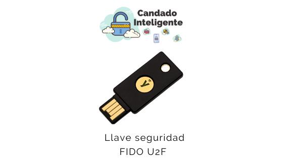 llave de seguridad fido u2f  candadointeligente.com
