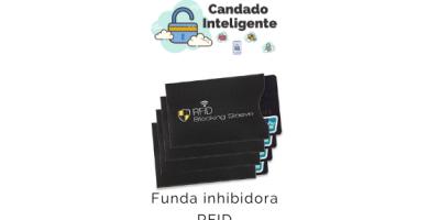 funda inhibidora contactless RFID
