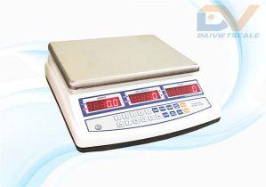Mức cân 3kg 6kg 15kg 30kg   Độ chia 0.1g 0.2g 1g 1g