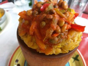 mofongo at Boriken Restaurant