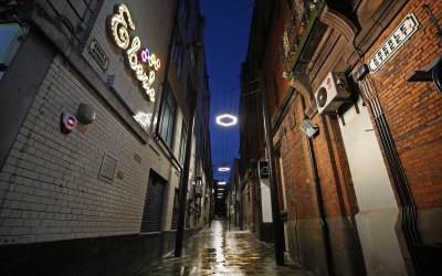 Eberle Street: Lighting the Yellow Brick Road – LED Lighting Refurbishment Project