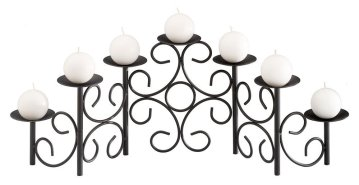 Black fireplace Candelabra
