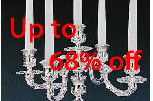 Candelabra Centerpieces on Sale