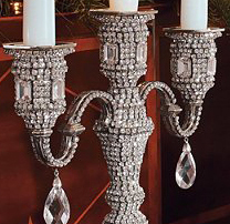 Swarovski Crystal Wedding Candelabra