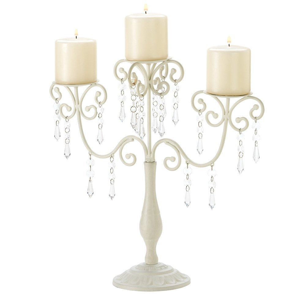 Ivory Wedding Candelabras Set of 15 save $87.50