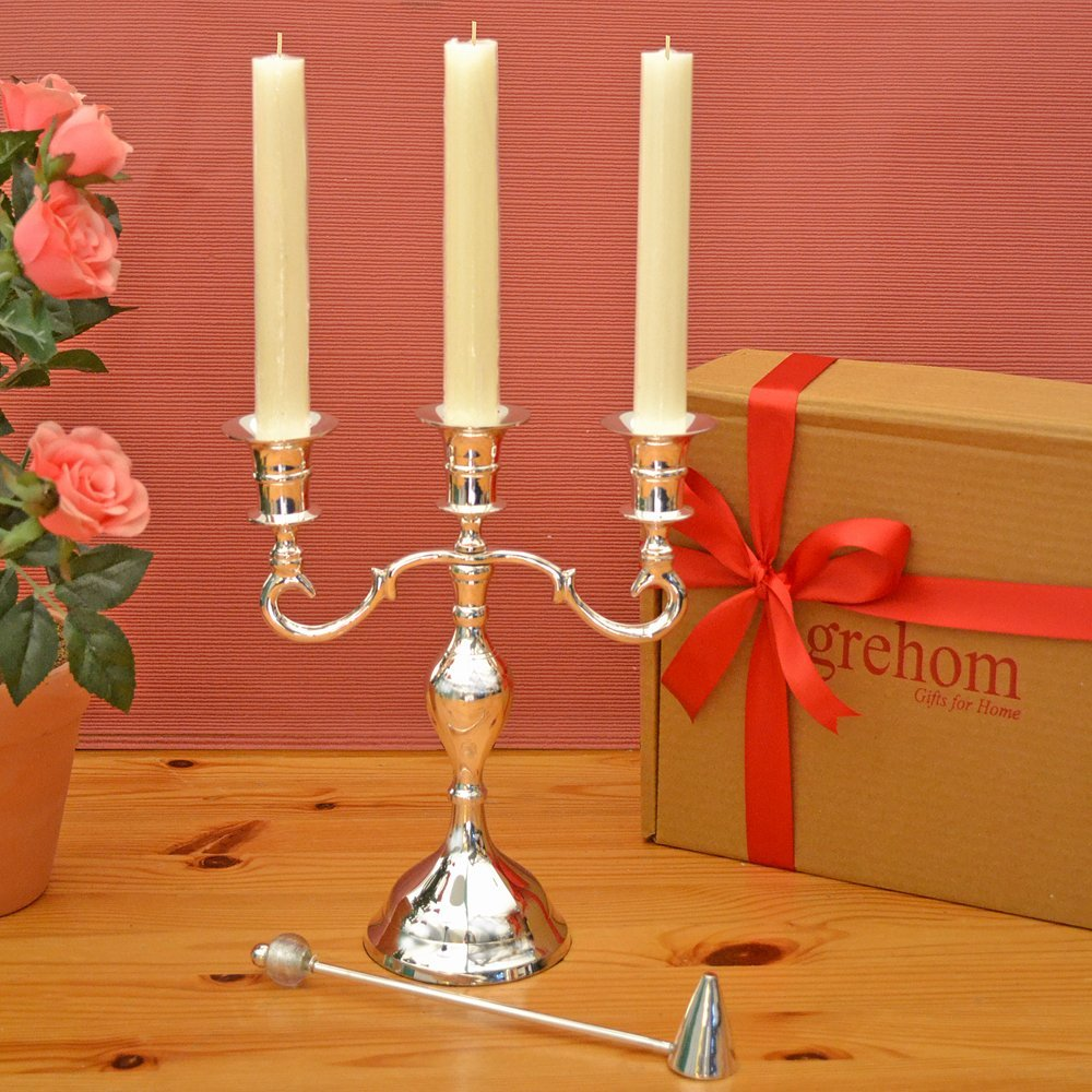 Candelabra Boxed Gift Set
