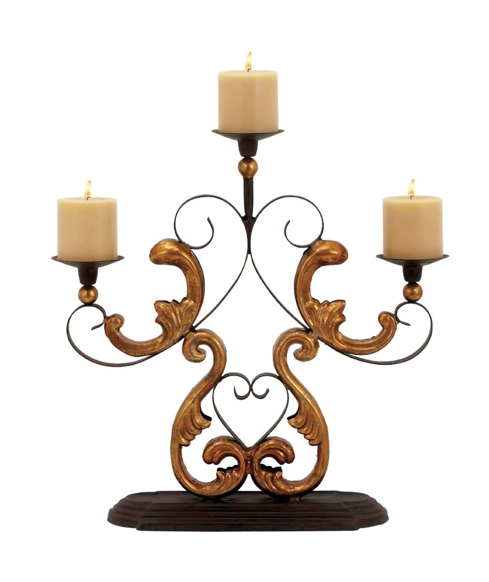 Baroque Accent Candelabra